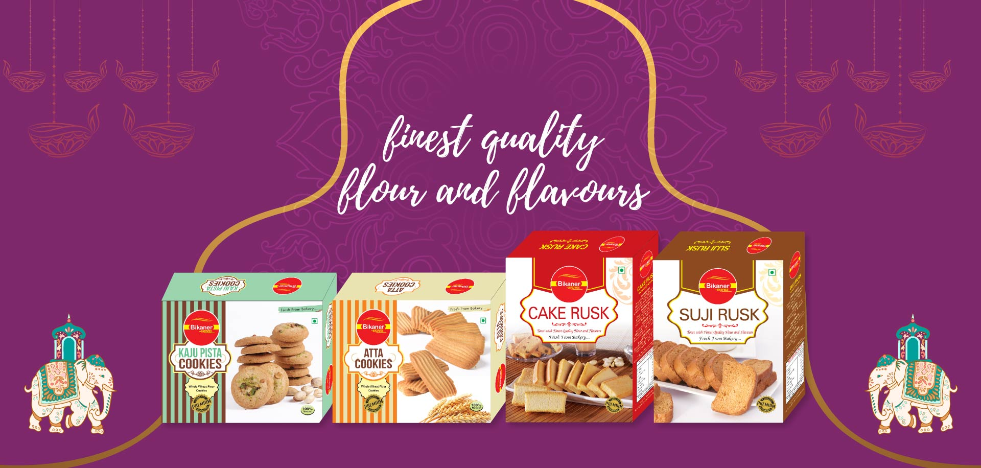 Bikaner Express Rusk & Cookies