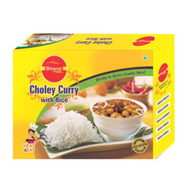 Choley Curry with Rice