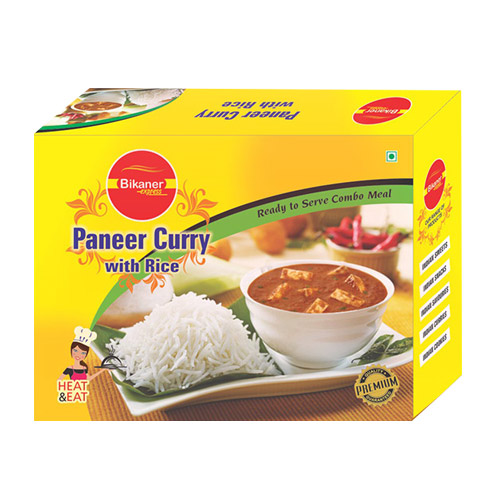 Paneer Curry with Rice