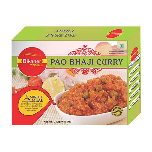 Pao Bhaji Curry